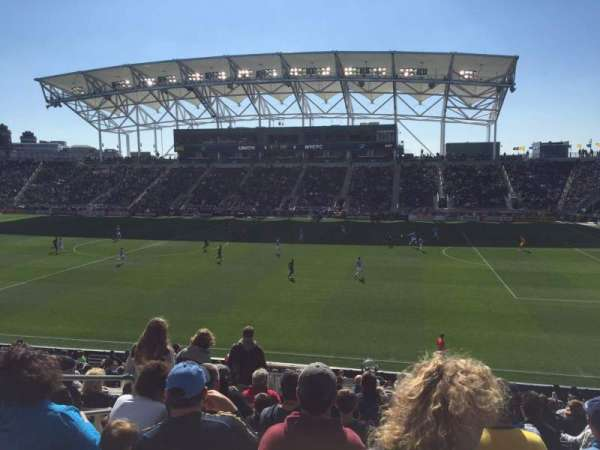 Talen Energy Stadium, section: 124, row: X, seat: 16