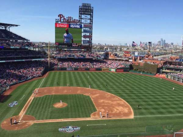 Citizens Bank Park, section: 316, row: 7, seat: 7