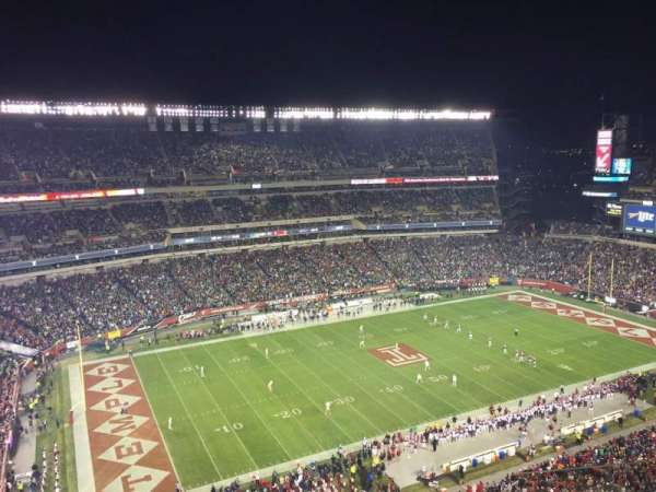 Lincoln Financial Field, section: 221, row: 15, seat: 9