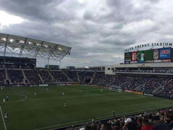 Talen Energy Stadium, section: 127, row: AA, seat: 18
