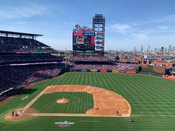 Citizens Bank Park, section: 315, row: 2, seat: 14