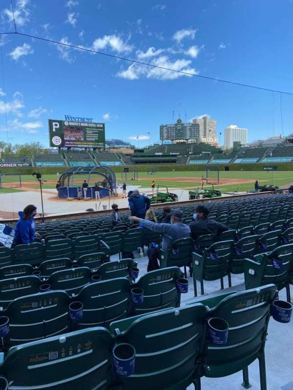 Wrigley Field, section: 119, row: 6, seat: 12