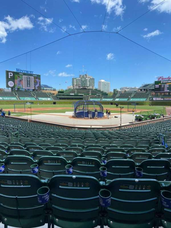 Wrigley Field, section: 117, row: 6, seat: 8