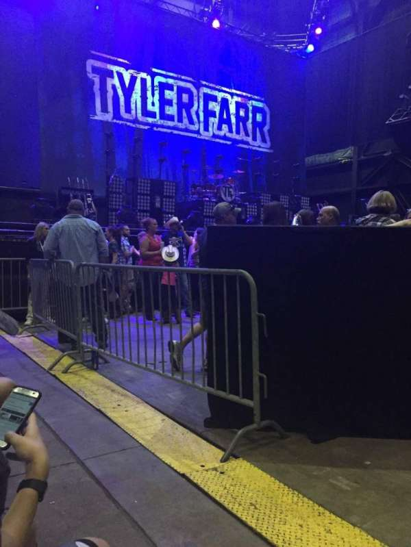 Jiffy Lube Live, section: 3, row: A