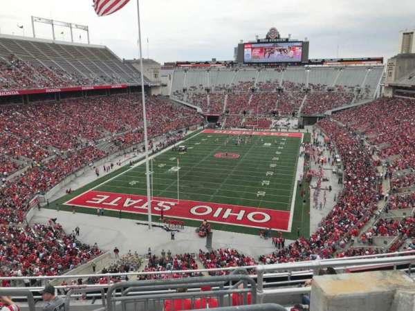 Ohio Stadium Section 5c Home Of Ohio State Buckeyes
