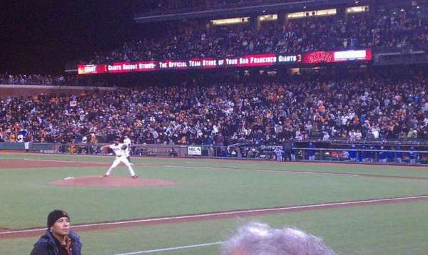 AT&T Park, section: 125, row: 5, seat: 3