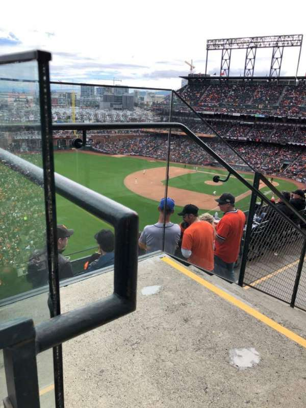 Oracle Park, section: 332, row: 1, seat: 1