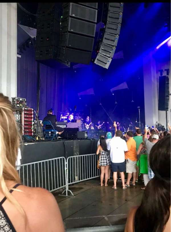 PNC Music Pavilion, section: 3, row: J, seat: 24