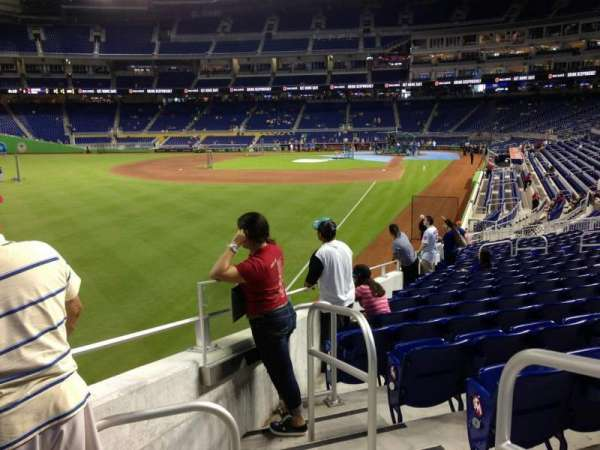 Marlins Park, section: 28, row: 11, seat: 1