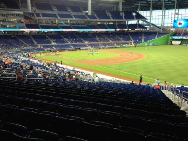 Marlins Park, section: 4, row: 26, seat: 2