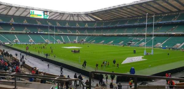 Twickenham Stadium, section: L19, row: 26, seat: 6