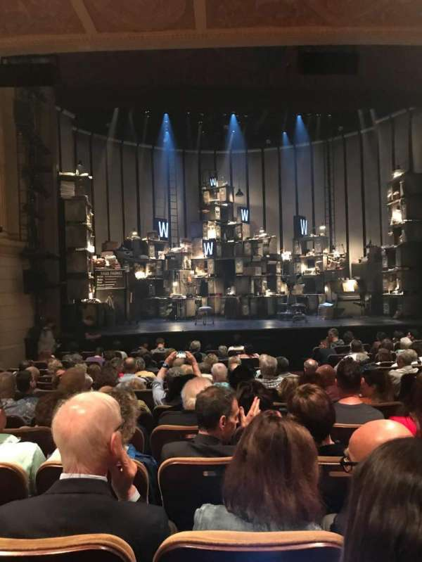 Samuel J. Friedman Theatre, section: Orchestra L, row: M, seat: 107