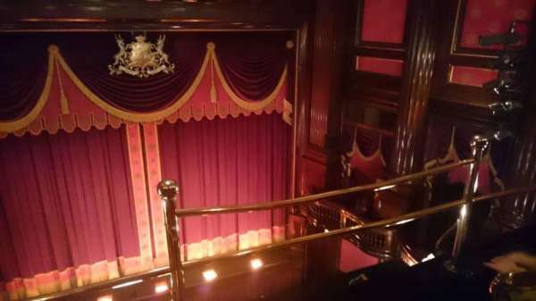 St. Martins Theatre, section: Upper Circle, row: A, seat: 11