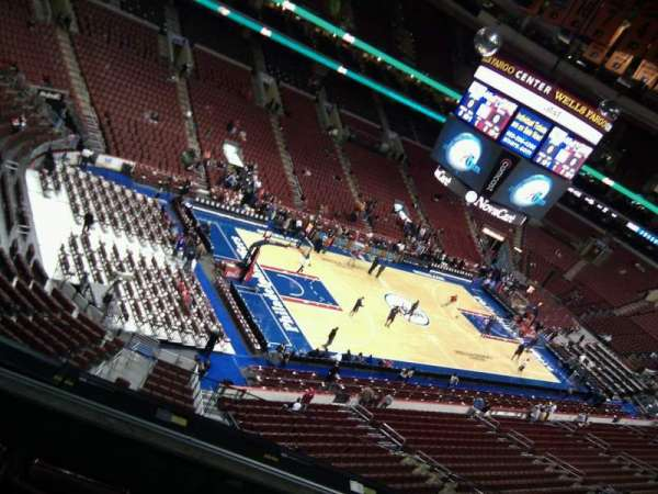 Wells Fargo Center, section: 209, row: 4, seat: 7