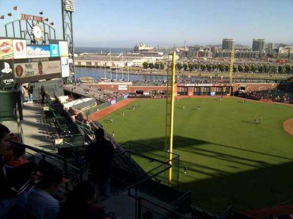 AT&T Park, section: 333, row: 4, seat: 10