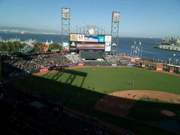 AT&T Park, section: 321, row: 8, seat: 2