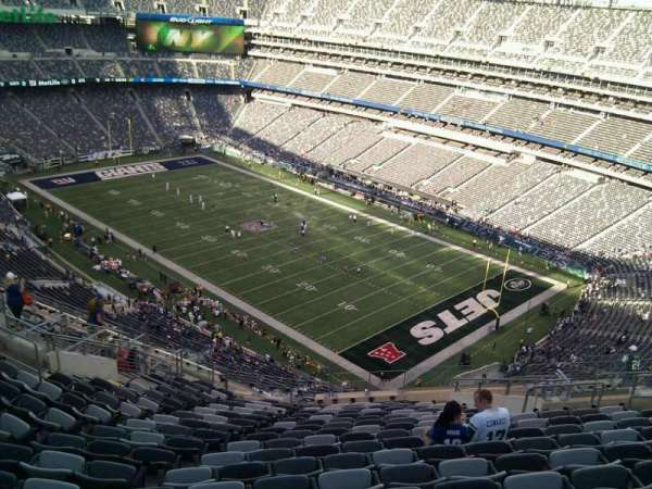 MetLife Stadium, section: 332, row: 21, seat: 13