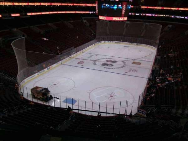 Wells Fargo Center, section: 220, row: 2, seat: 9