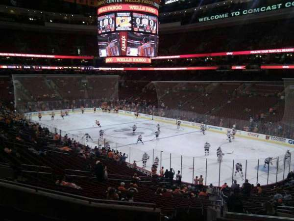 Wells Fargo Center, section: Club Box 4, row: 6, seat: 23