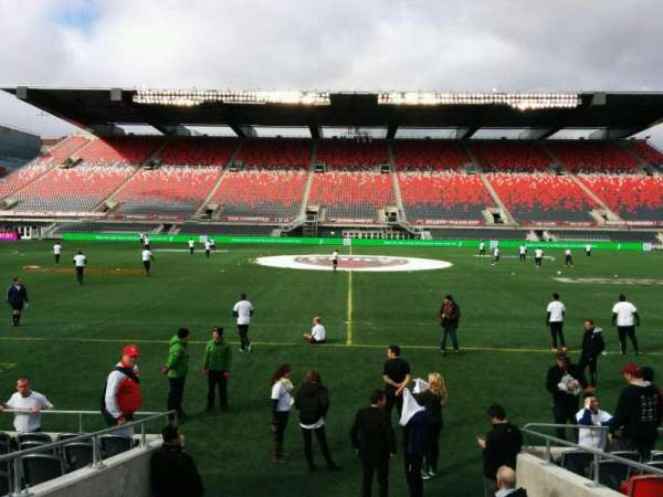 TD Place Stadium, section: S, row: 10, seat: 12