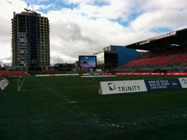 TD Place Stadium, section: K, row: 1, seat: 3