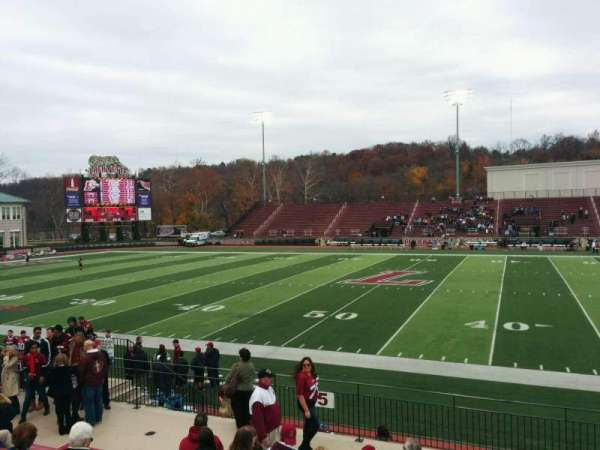 Fisher Stadium, section: 5, row: k, seat: 6