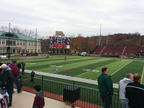 Fisher Stadium, section: 6, row: d, seat: 17