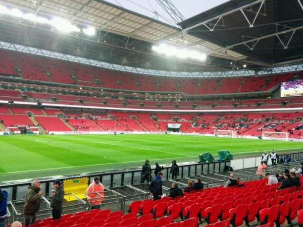 Wembley Stadium, section: 124, row: 13, seat: 51