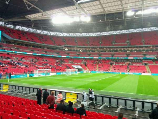 Wembley Stadium, section: 124, row: 13, seat: 53