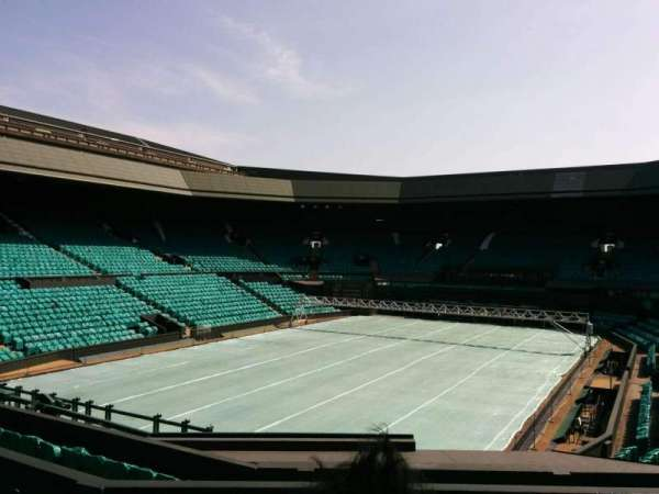 Wimbledon, Centre Court, section: 205, row: f, seat: 157