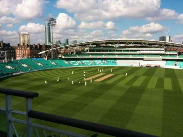 Kia Oval, section: Pavilion Top, row: b, seat: 28