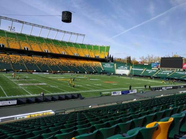Commonwealth Stadium (Edmonton), section: w, row: 17, seat: 12