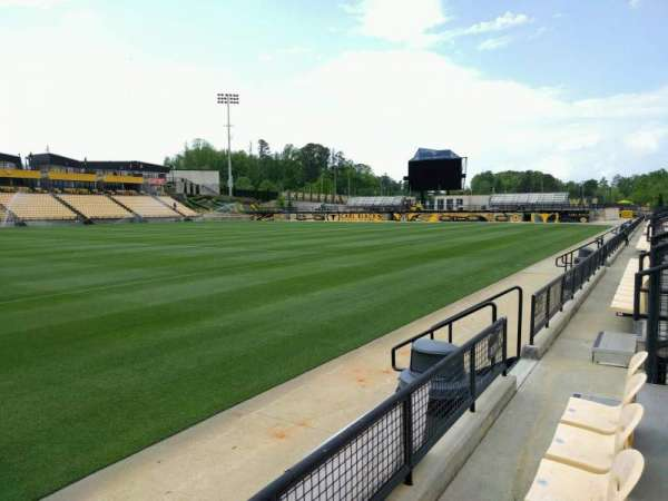 Fifth Third Bank Stadium, section: 124, row: b , seat: 7