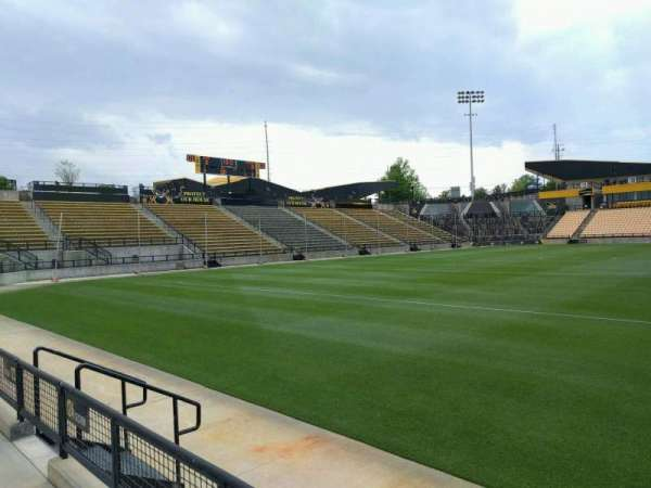Fifth Third Bank Stadium, section: 124, row: b, seat: 7