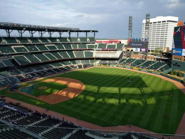 Truist Park, section: 413, row: 5, seat: 9