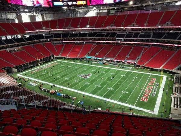 Mercedes Benz Stadium Section 307 Home Of Atlanta Falcons Atlanta