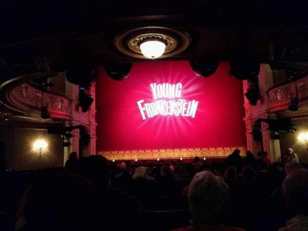 Garrick Theatre, section: stalls, row: o, seat: 12