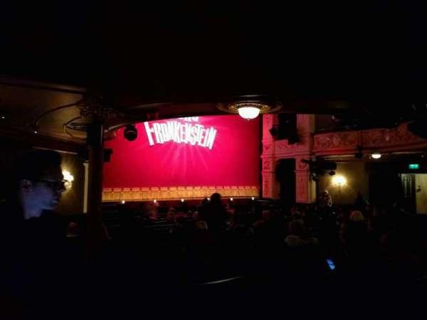 Garrick Theatre, section: stalls, row: o, seat: 24