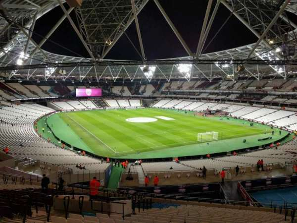 London Stadium, section: 245, row: 53, seat: 140