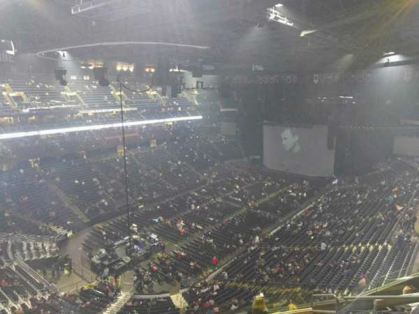 Nationwide Arena, section: 207, row: h, seat: 7