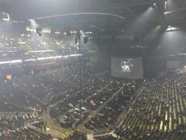 Nationwide Arena, section: 208, row: e, seat: 7