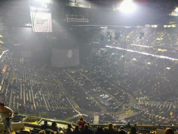 Nationwide Arena, section: 212, row: n, seat: 12