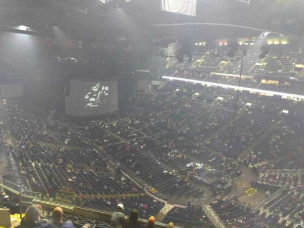 Nationwide Arena, section: 213, row: h, seat: 8