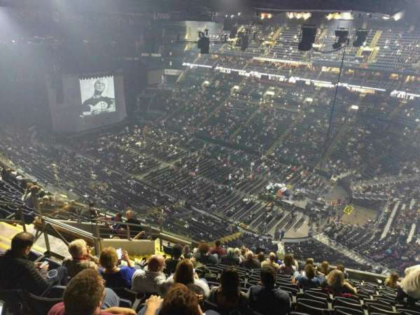 Nationwide Arena, section: 214, row: m, seat: 18