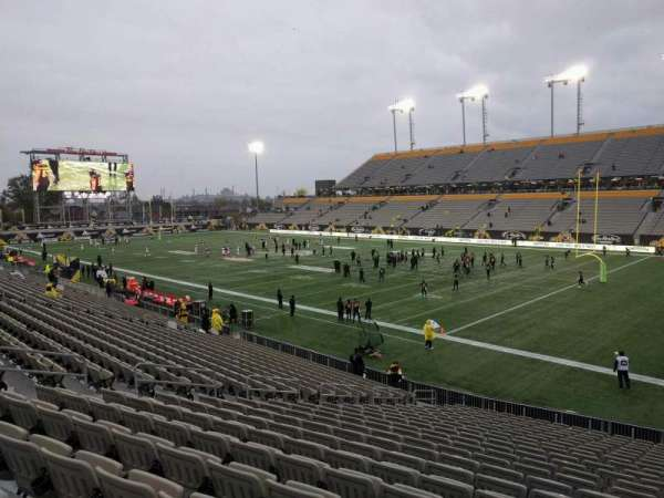 Tim Hortons Field, section: 101, row: 22, seat: 14