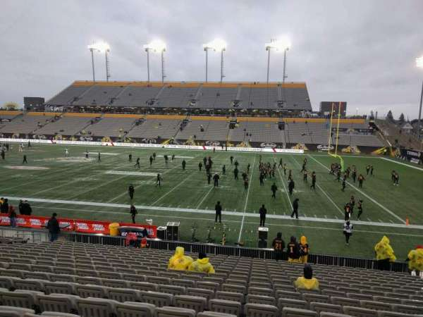Tim Hortons Field, section: 103, row: 18, seat: 19