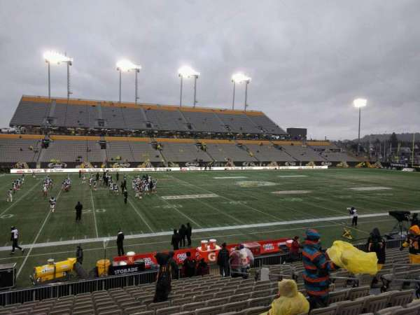 Tim Hortons Field, section: 107, row: 16, seat: 10