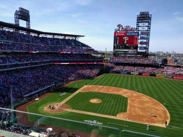 Citizens Bank Park, section: 315, row: 2, seat: 6