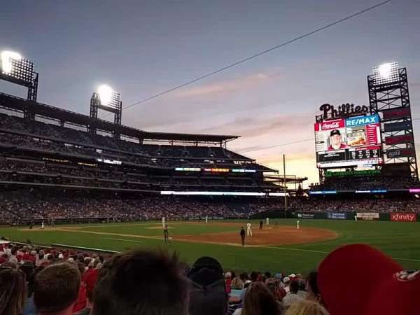 Citizens Bank Park, section: 113, row: 17, seat: 5