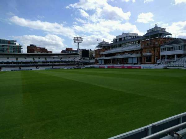 Lord's Cricket Ground, section: Grandstand A, row: 2, seat: 39